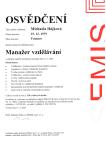 SEMIS certifikát