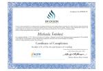 ERICKSON certifikát